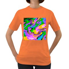 Crazy Effects  Womens' T-shirt (Colored)