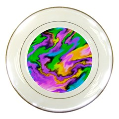 Crazy Effects  Porcelain Display Plate