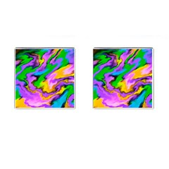 Crazy Effects  Cufflinks (Square)