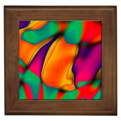 Crazy Effects  Framed Ceramic Tile