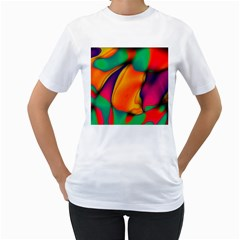 Crazy Effects  Womens  T Shirt (white)