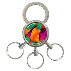 Crazy Effects  3-Ring Key Chain