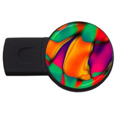 Crazy Effects  1GB USB Flash Drive (Round)