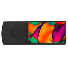 Crazy Effects  2GB USB Flash Drive (Rectangle)