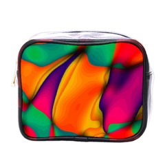 Crazy Effects  Mini Travel Toiletry Bag (One Side)