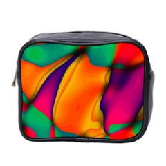 Crazy Effects  Mini Travel Toiletry Bag (two Sides)