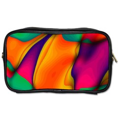 Crazy Effects  Travel Toiletry Bag (Two Sides)