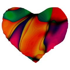 Crazy Effects  19  Premium Heart Shape Cushion