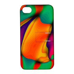Crazy Effects  Apple iPhone 4/4S Hardshell Case with Stand