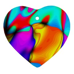 Crazy Effects Heart Ornament