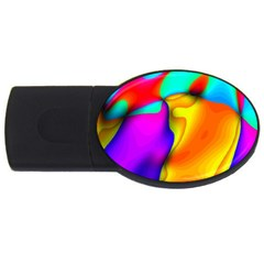 Crazy Effects 1GB USB Flash Drive (Oval)