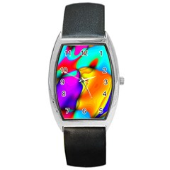 Crazy Effects Tonneau Leather Watch