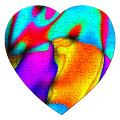 Crazy Effects Jigsaw Puzzle (Heart)