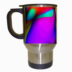 Crazy Effects Travel Mug (White)