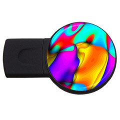 Crazy Effects 4GB USB Flash Drive (Round)