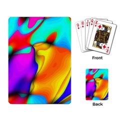 Crazy Effects Playing Cards Single Design