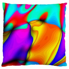 Crazy Effects Large Cushion Case (Two Sided)