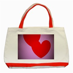 I Love You Classic Tote Bag (Red)