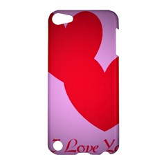I Love You Apple iPod Touch 5 Hardshell Case