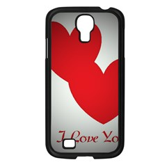 I Love You Samsung Galaxy S4 I9500/ I9505 Case (Black)