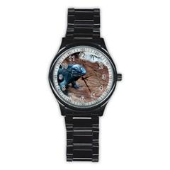 Sweet Reptiles Sport Metal Watch (black)