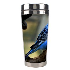 Blue Budgie Stainless Steel Travel Tumbler