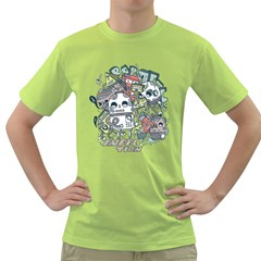 Robotic Infection Mens  T-shirt (Green)