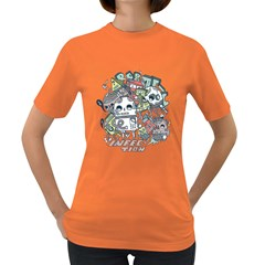Robotic Infection Womens' T Shirt (colored)
