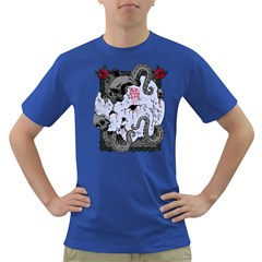 Octopus Attack Mens' T-shirt (Colored)