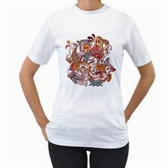 :p Womens  T Shirt (white)