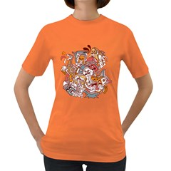 :p Womens' T Shirt (colored)