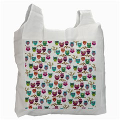 Happy Owls Recycle Bag (Two Sides)
