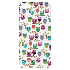 Happy Owls Apple iPhone 5 Hardshell Case