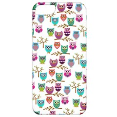 Happy Owls Apple Iphone 5 Classic Hardshell Case