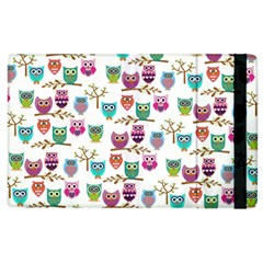 Happy Owls Apple Ipad 2 Flip Case