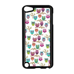 Happy Owls Apple iPod Touch 5 Case (Black)