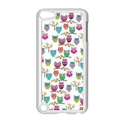 Happy Owls Apple iPod Touch 5 Case (White)