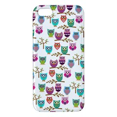 Happy Owls Iphone 5 Premium Hardshell Case