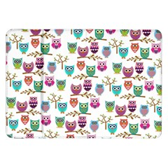 Happy Owls Samsung Galaxy Tab 8.9  P7300 Flip Case