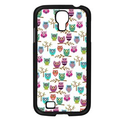 Happy Owls Samsung Galaxy S4 I9500/ I9505 Case (black)