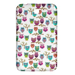 Happy Owls Samsung Galaxy Tab 3 (7 ) P3200 Hardshell Case