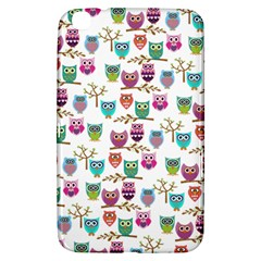 Happy Owls Samsung Galaxy Tab 3 (8 ) T3100 Hardshell Case