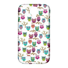 Happy Owls Samsung Galaxy S4 Classic Hardshell Case (PC+Silicone)