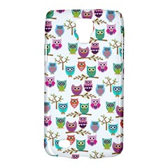 Happy Owls Samsung Galaxy S4 Active (i9295) Hardshell Case