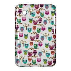 Happy Owls Samsung Galaxy Tab 2 (7 ) P3100 Hardshell Case