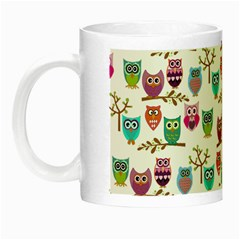 Happy Owls Glow in the Dark Mug
