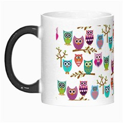Happy Owls Morph Mug