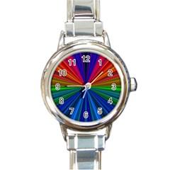 Design Round Italian Charm Watch
