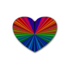 Design Drink Coasters 4 Pack (Heart)