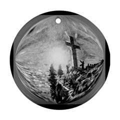 The Apple Of God s Eye Is Jesus - Ave Hurley - ArtRave - Ornament (Round)
